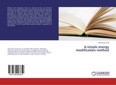 Buchcover von A simple energy modification method