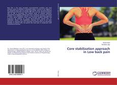 Обложка Core stabilization approach in Low back pain