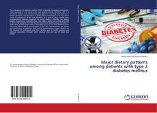 Portada del libro de Major dietary patterns among patients with type 2 diabetes mellitus