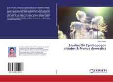 Studies On Cymbopogon citratus & Prunus domestica的封面