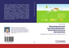Обложка Формирование организационно-экономического механизма