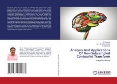 Copertina di Analysis And Applications Of Non-Subsampled Contourlet Transform