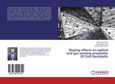 Copertina di Doping effects on optical and gas sensing properties Of ZnO Nanobelts