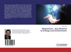 Bookcover of Magnesium - Key Material to Energy and Environment