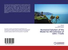 Portada del libro de Numerical Solution of the Model for HIV Infection of CD4+ T-Cells