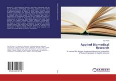 Applied Biomedical Research的封面