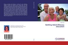 Copertina di Battling Adult Illiteracy Education