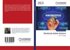 Bookcover of Okullarda Kalite Kültürü