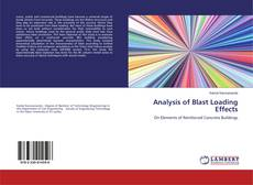 Copertina di Analysis of Blast Loading Effects