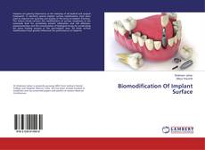 Biomodification Of Implant Surface的封面