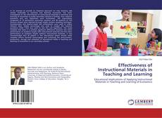 Couverture de Effectiveness of Instructional Materials in Teaching and Learning