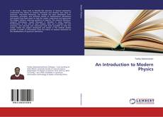 Bookcover of An Introduction to Modern Physics