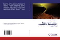Bookcover of Геометрические структуры линейных алгебр