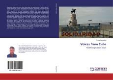 Portada del libro de Voices from Cuba