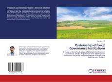 Partnership of Local Governance Institutions kitap kapağı