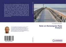 Note on Rectangular Plate Analysis kitap kapağı
