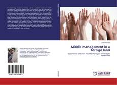 Buchcover von Middle management in a foreign land