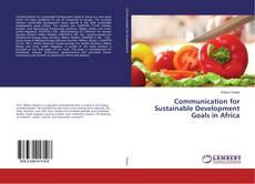 Buchcover von Communication for Sustainable Development Goals in Africa