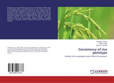 Bookcover of Consistency of rice genotype