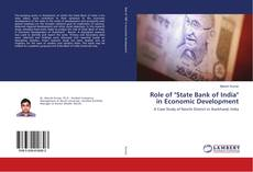 """Couverture de Role of """"State Bank of India"""" in Economic Development"""