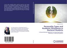 Capa do livro de Personality Types and Academic Persistence in Doctoral Students