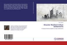 Обложка Disaster Resilient Urban Settlements