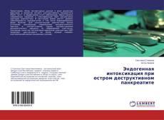 Обложка Эндогенная интоксикация при остром деструктивном панкреатите