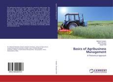 Bookcover of Basics of Agribusiness Management