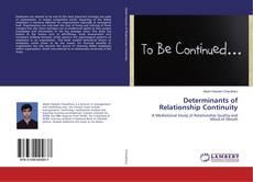 Couverture de Determinants of Relationship Continuity