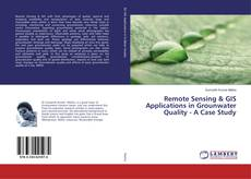 Portada del libro de Remote Sensing & GIS Applications in Grounwater Quality - A Case Study