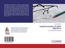 Buchcover von Implementation of LDPC algorithm