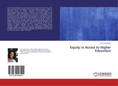 Equity in Access to Higher Education的封面