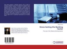 Capa do livro de Stress-testing the Banking Sector