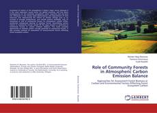 Bookcover of Role of Community Forests in Atmospheric Carbon Emission Balance