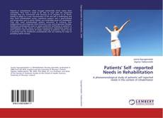 Patients' Self -reported Needs in Rehabilitation kitap kapağı