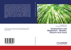 Bookcover of Panpsychism and Meditation - Bhakthi, Dhyana and Jnana