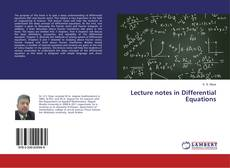Lecture notes in Differential Equations的封面