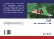 Bookcover of Pest Incidence on Citrus