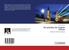 Portada del libro de 30 activities for English classes