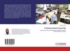 E-Government Security kitap kapağı