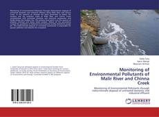 Buchcover von Monitoring of Environmental Pollutants of Malir River and Chinna Creek