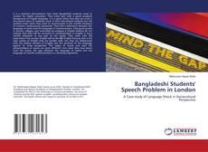 Bangladeshi Students' Speech Problem in London的封面
