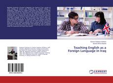 Bookcover of Teaching English as a Foreign Language in Iraq