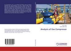 Buchcover von Analysis of Gas Compressor