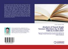 Buchcover von Analysis of Equal Angle Tension Members by IS 800-1984 & IS 800-2007
