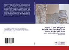 Обложка Political and Religious Power and Philosophy in Ancient Mesopotamia