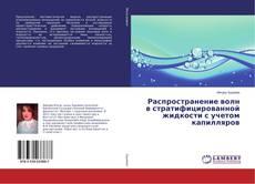 Capa do livro de Распространение волн в стратифицированной жидкости с учетом капилляров