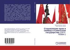 Bookcover of Становление прав и свобод в Советском государстве (1917-1930гг.)