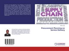 Procurement Planning on Service Delivery kitap kapağı