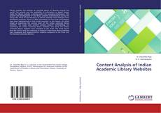 Couverture de Content Analysis of Indian Academic Library Websites